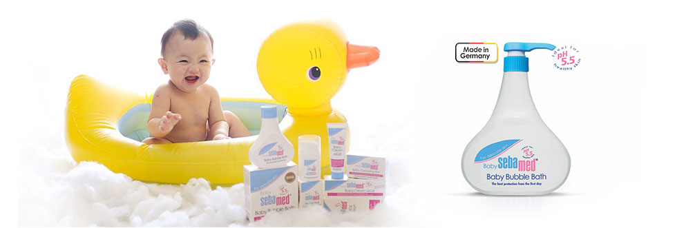 Baby Bubble Bath Soap Brands - Bubble Bath Products - Sebamed India